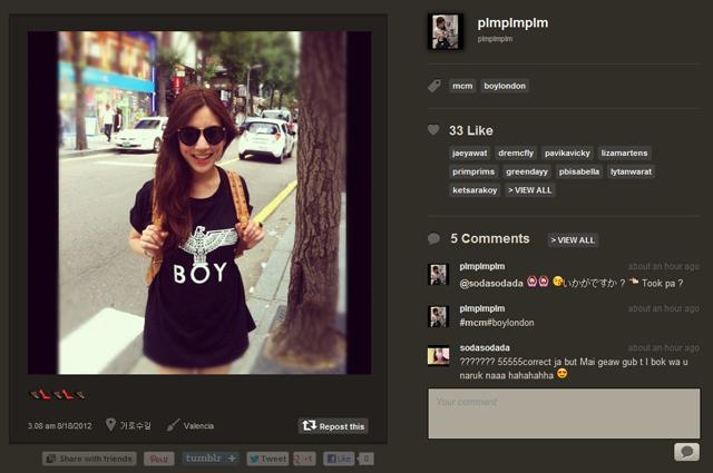 InstagramCognacVisetosBackpackFan