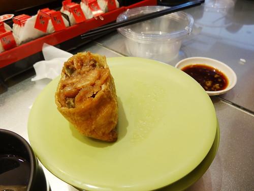 台湾式回転寿司�:Taiwan style conveyor belt sushi�