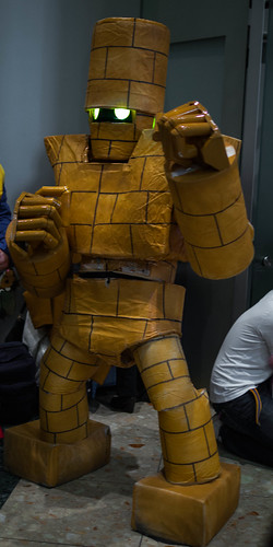 Dragon Quest Golem cosplay from Comiket 83.