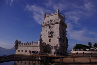 صورة Belém Tower قرب Algés. lisboa lisbon belem lisbonne torredebelém 31122012