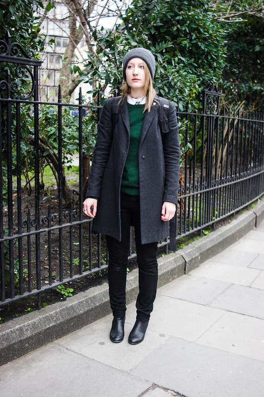 Street style - Katy Davies, London Collections: Men