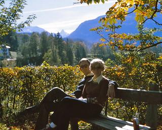 West Germany   -   Berchtesgaden   -   John & Barbara   -  October 1979