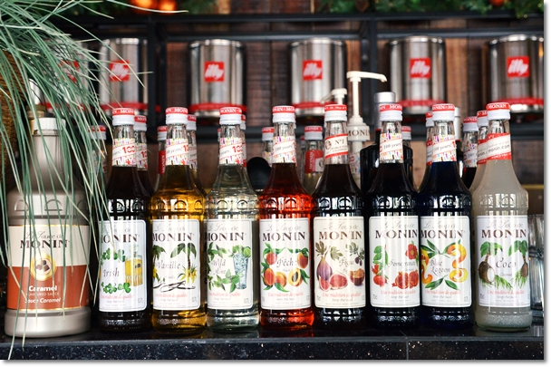 Monin Flavoured Syrups