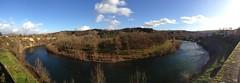 Carbonne, la Garonne