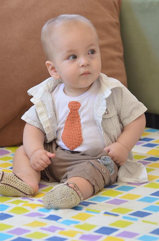 LEOyarn Handmade Crochet tie