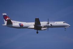 130ar - Crossair Saab 2000; HB-IZI@ZRH;29.04.2001