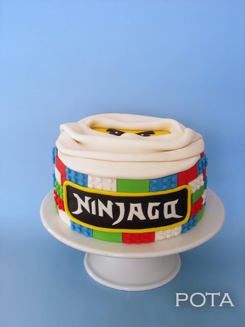 gâteau ninjago - torta ninjago