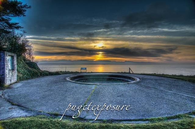 Fort Ebey Gun Tourette