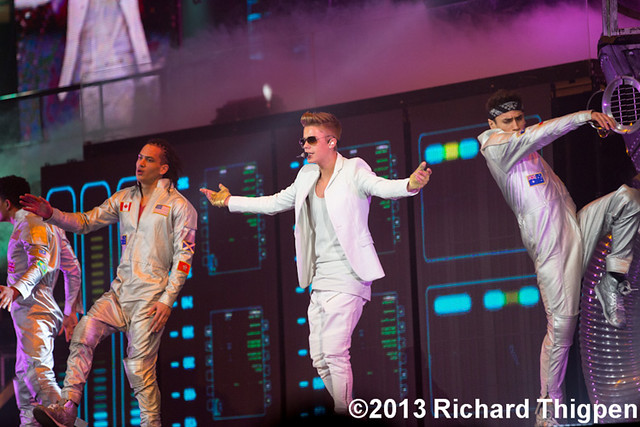 Justin Bieber @ The Believe Tour, Time Warner Cable Arena, Charlotte ...