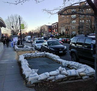 The Sandbags of Cleveland Park