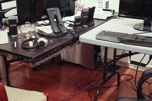 Cord Control - Joshua's Office