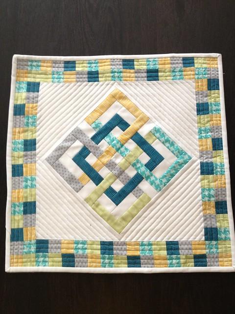 Sew Sew Modern 2013 Mini Quilt