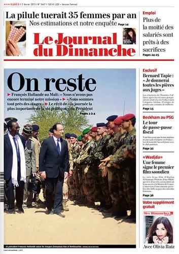 lejournaldudimanche-cover-2013-02-03 - 無料写真検索fotoq