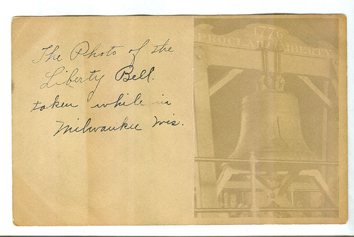 RPPC Liberty Bell front