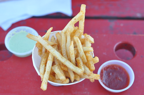 Mighty Cone fries