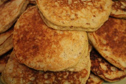 Primal Banana Almond Pancakes