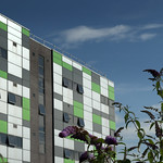 UCLan Media Building and Summer Colour - 4