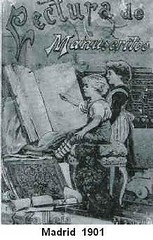 Libro de manuscrito.