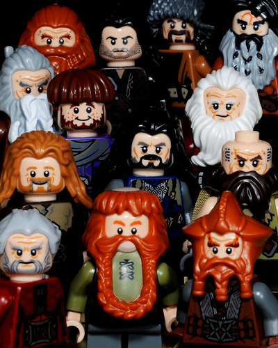 Hobbit_Dwarves Poster Lego Version