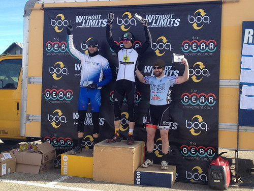 Boulder CX series podium 2012 35+ Cat 3