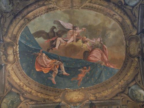 DSCN4716 _ Madonna con Bambino, Annunciazione, San Giovanni Battista e San Giacomo Maggiore (b), Palazzo D'Accursio (Palazzo Comunale), Bologna