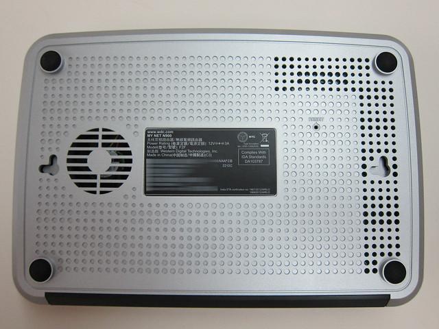 WD My Net N900 Router - Built-in Fan