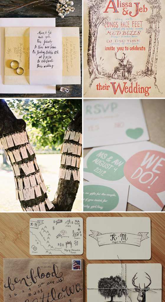 Wedding Stationery via Lovestruck