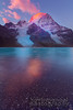 Mount Robson-Berg Lake Sunrise