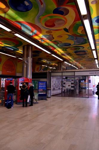 Perpignan train station