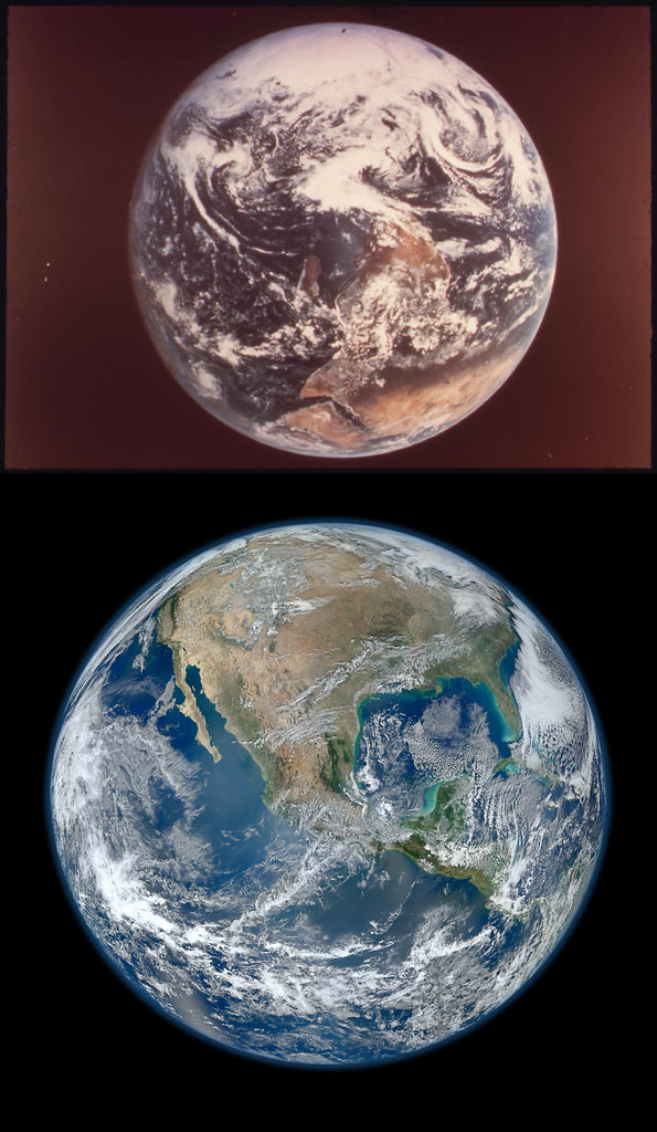 Earth Then and Now for Documerica and State of the Environment.