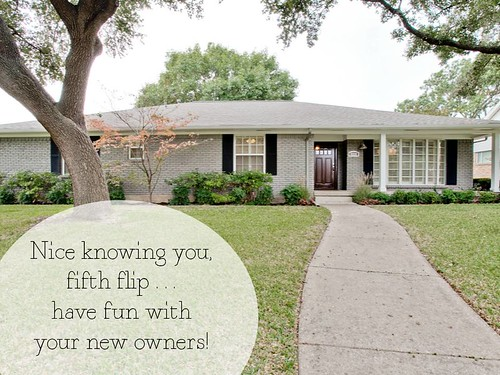 Fifth Flip is Sold!
