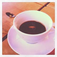 Afternoon coffee break