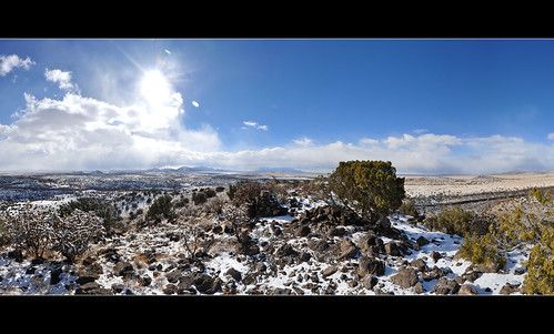 winter panorama snow newmexico santafe canyon mesa sandiamountains lacienega santaferiver labajada ortizmountains lacieneguilla tetillapeak cerroseguro