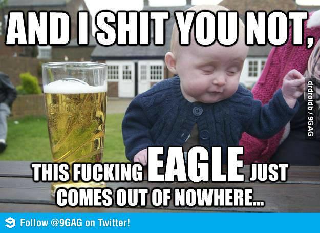 EagleShitYouNot