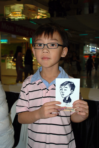 digital live caricature sketching for iCarnival (photos) - Day 2 - 32