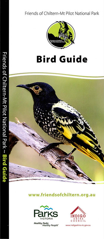 Chiltern Birds Brochure Cover