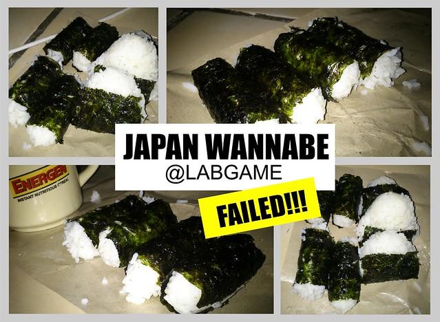 Sushi failed.