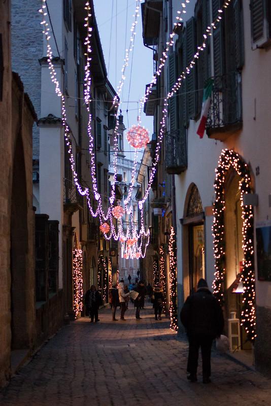 Natale 2012 – via Colleoni, Bergamo (Italia)