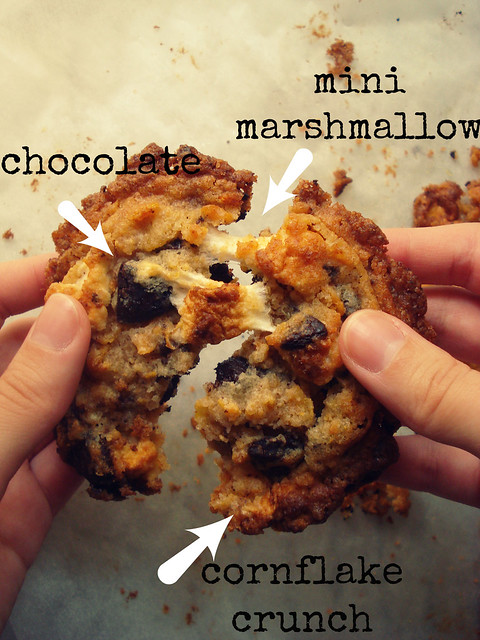 Cornflake-Chocolate Chip-Marshmallow Cookies 2