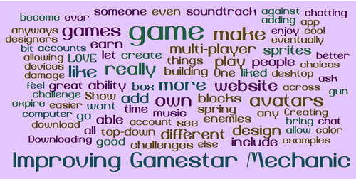 Improving Gamestar