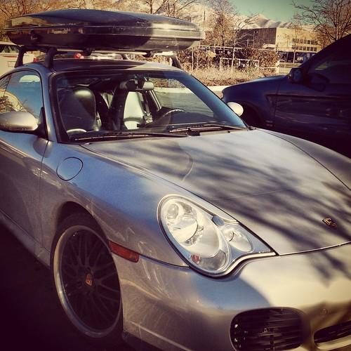 Porsche with Rocketbox