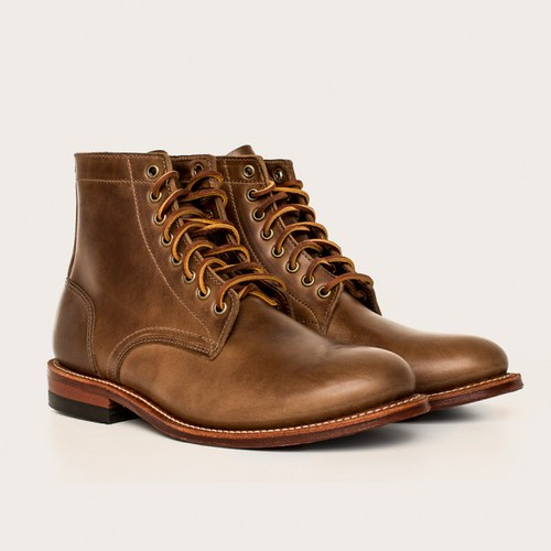 Oakstreet Bootmakers natural trench boot