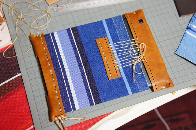 Handmade iPad mini cover (back)