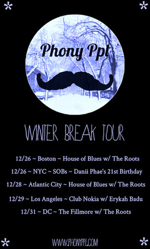 phony winter break tour