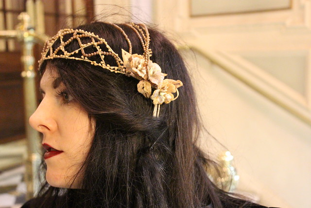 Antique wedding Headdress9
