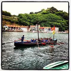 rowing(0.0), gondola(0.0), canoeing(0.0), canoe(1.0), vehicle(1.0), watercraft rowing(1.0), boating(1.0), watercraft(1.0), boat(1.0), waterway(1.0), paddle(1.0),