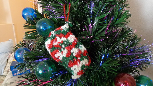 Crocheted ornament