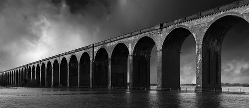 Christmas Floods - The Welland Viaduct