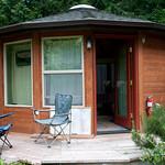 Moon Yurt on Bainbridge Island - Seattle, Washington