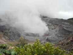 Volcán Poás, Cráter Principal/Laguna Caliente
